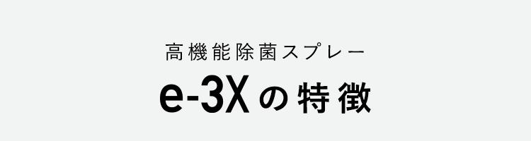 e-3X説明
